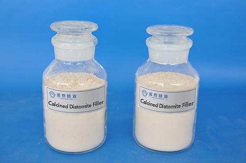 煅烧品硅藻土填料